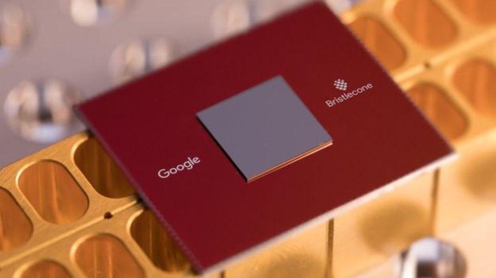 Google ha desarrollado un procesador cuántico de 72 bits llamado Bristlecone. (Foto: Google)