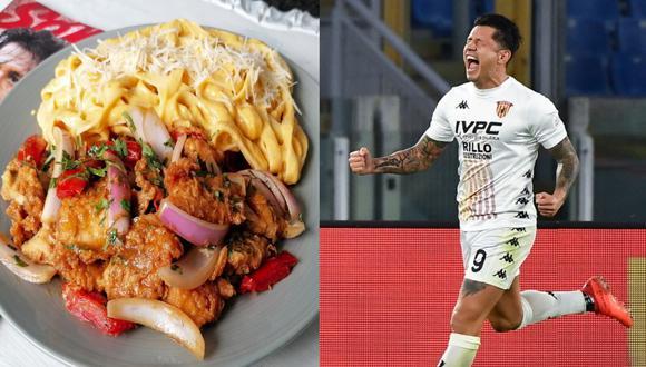 Ya es tradición en el restaurante Mi Barrunto (ubicado en La Victoria) bautizar varios platos del menú con nombres de jugadores de fútbol. La última novedad de la carta es un homenaje a Gianluca Lapadula.