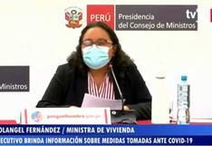 Gobierno brindó conferencia de prensa para informar sobre medidas aplicadas durante la pandemia
