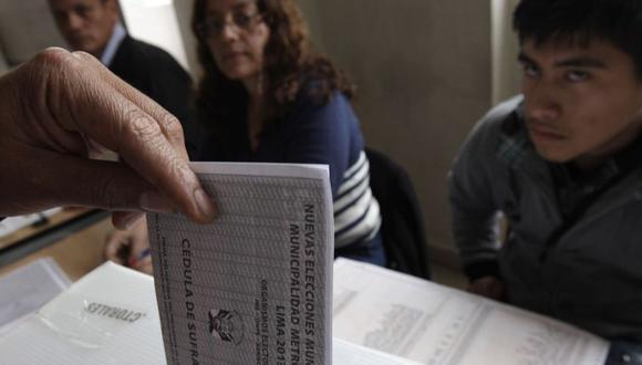 Conoce en esta nota si tienes multas electorales pendientes de cara a las elecciones del 11 de abril | Foto: Andina / Referencial