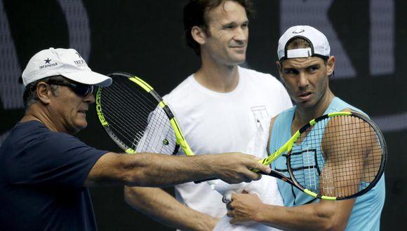 Toni Nadal es el principal responsable del éxito de su sobrino, Rafael Nadal. (Foto: AP)