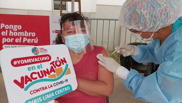 Para la Vacuntón se contó con el apoyo de 887 brigadas que trabajaron 36 horas ininterrumpidas. (Foto: Diris Lima Centro)