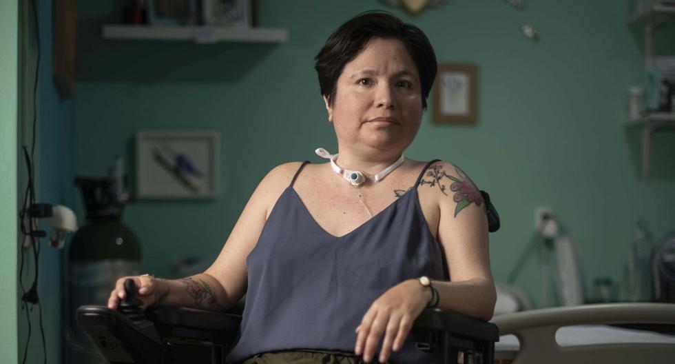 Ana Estrada Ugarte llevó su pedido por una muerte digna a la justicia peruana. La Corte Superior de Lima le acaba de dar la razón. (Foto: Elías Alfageme)