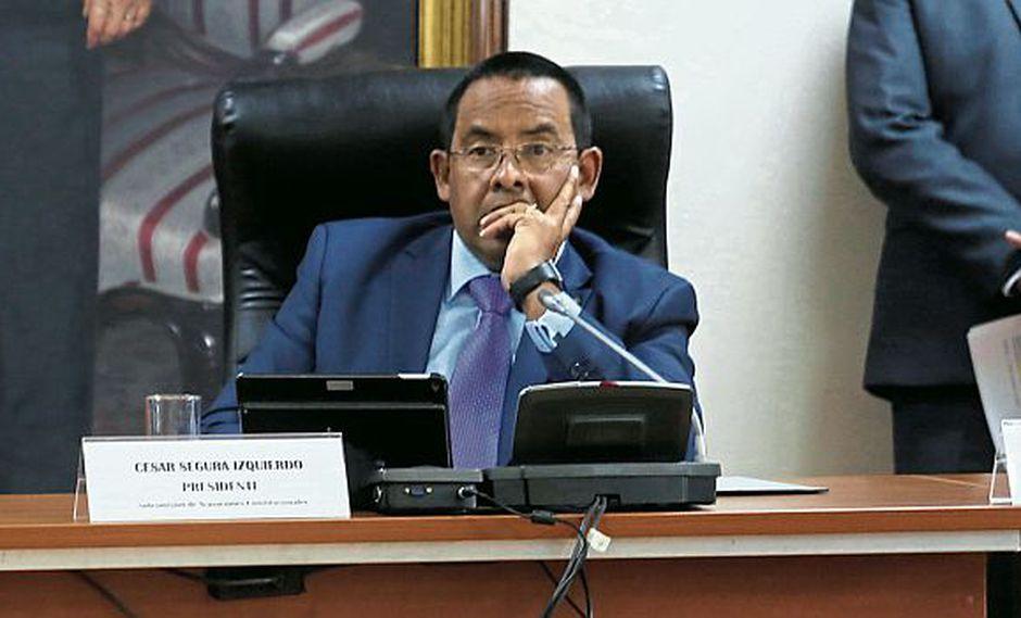 César Segura (Fuerza Popular) es el presidente de la Subcomisión de Acusaciones Constitucionales. (Anthony Niño de Guzmán)