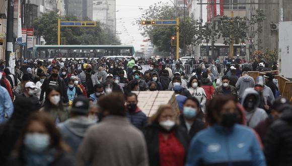 La cifra de contagios por el nuevo coronavirus se incrementó en el país.(Foto: Manuel Melgar/archivo/ GEC)