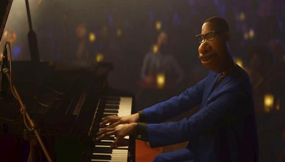"""Jamie Foxx le presta la voz a Joe Gardner, el protagonista de """"Soul"""", la nueva cinta de Pixar. (Disney+)"""