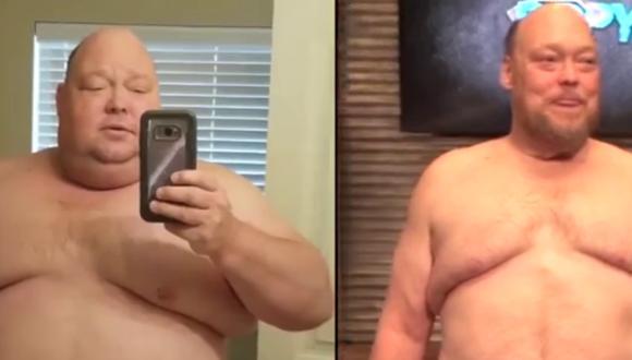 Logró perder casi 90 kilos en el transcurso de un año al inspirarse en una historia que vio en redes sociales. ¿Te animarías a seguir su ejemplo? (Foto: DPP Yoga en Facebook)