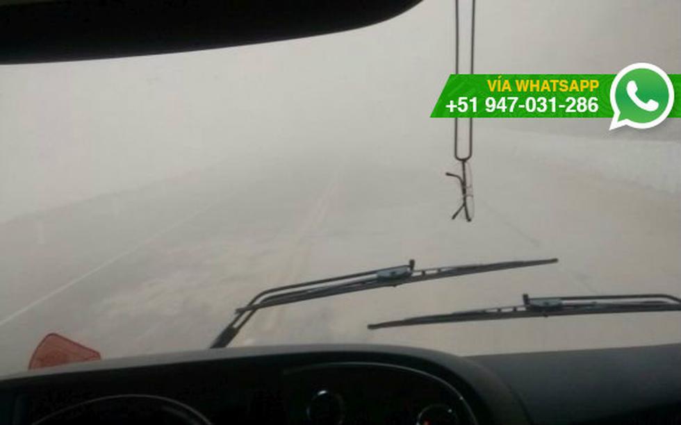 Moquegua: vientos huracanados afectan carretera hacia Ilo - 4