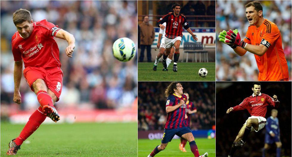 Igual que Gerrard: futbolistas que han jugado en un solo club  - 1