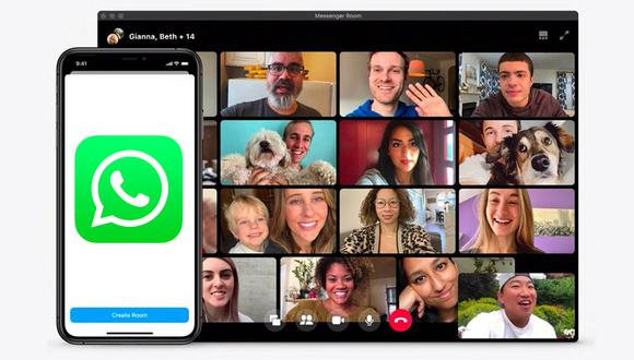 Conoce todos los pasos para hacer videollamadas de hasta 50 personas en WhatsApp Web. (Foto: Facebook)
