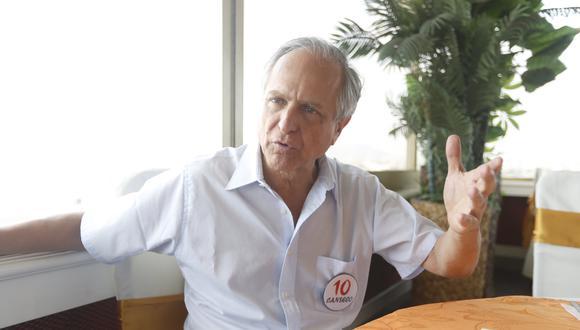 Francisco Diez-Canseco se retiró de la campaña electoral del 2016. (Foto: Mario Zapata / GEC)
