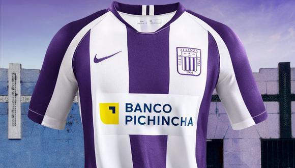Alianza Lima reveló su camiseta blanquimorada de este 2020. (Foto: Alianza Lima)