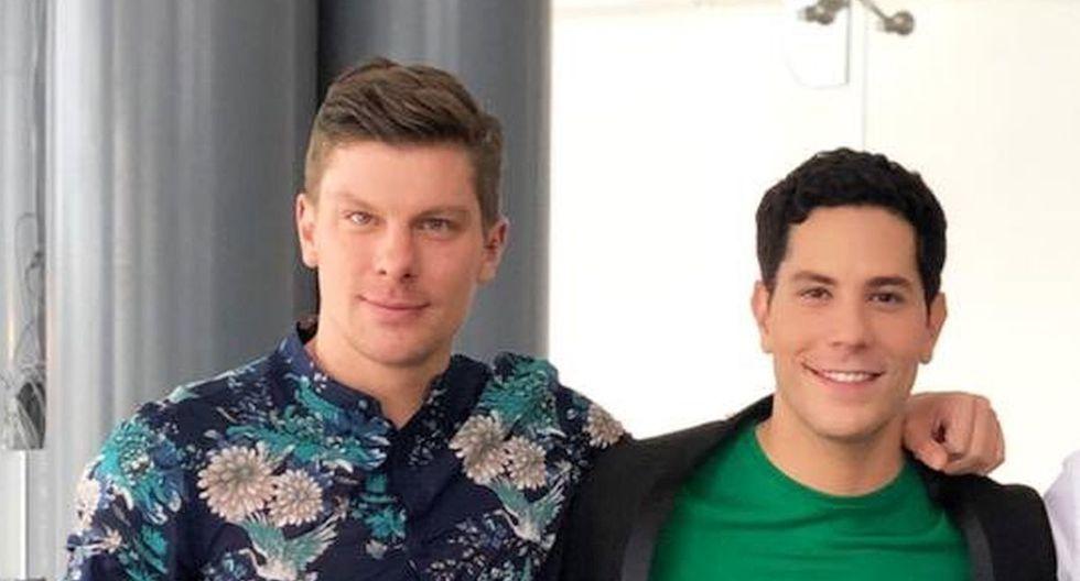 Christian Chávez y Maico Kemper se conocieron en 2018 en Ámsterdam. Se enamoraron a primera vista (Foto: Twitter / Kiki Florez)