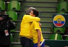 Ecuador sorprende a Japón y se acerca a la fase final de la Copa Davis