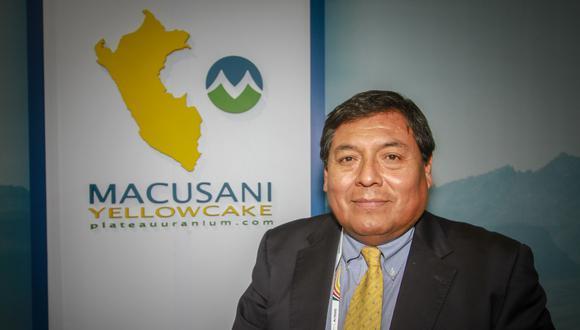 Ulises Solís, gerente general de Macusani Yellowcake, sostiene que la jefa de Ingemmet, Susana Vilca, se acercó a ellos para presar servicios de asesoría, que ella ahora niega haber ofrecido(Foto: Macusani Yellowcake).