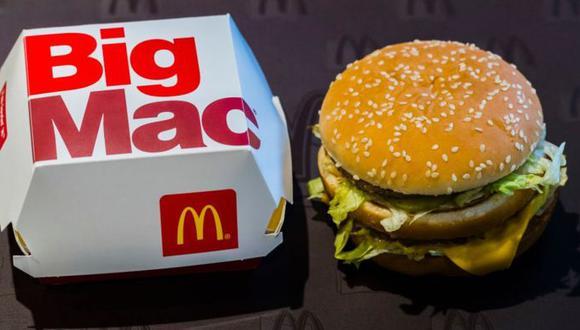 La Big Mac, opción icónica en el menú de McDonald´s se lanzó hace 50 años. (Foto: Getty Images)