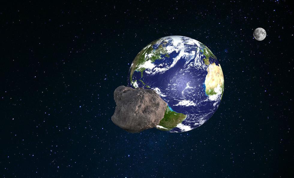 Un asteroide es una roca mayor a 50 metros que viaja en el espacio, cuyo tamaño es menor al de un planeta. Suele estar formado  (Foto: Pixabay)