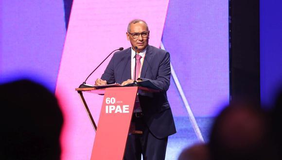 Luis Estrada, presidente de la CADE Ejecutivos 2019. (Foto: IPAE)