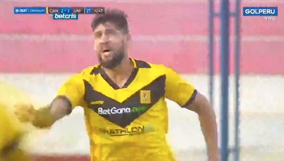 Gol de Cantolao: Gabriel Leyes y el 3-1 tras una gran jugada colectiva frente a Universitario   VIDEO