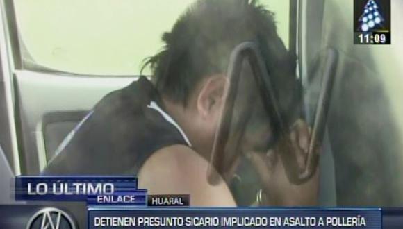 Huaral: cayó presunto sicario que mató a dos en pollería