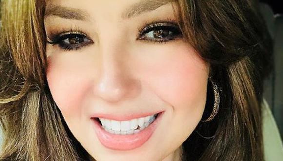 Thalía una vez más abre la polémica en Instagram. (Fotos: Instagram)
