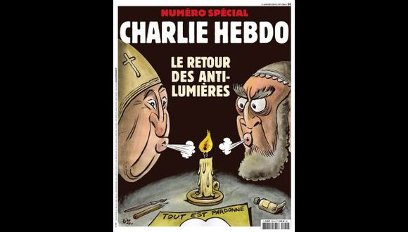 """""""Ya no sólo es blasfemia la representación del profeta (Mahoma), sino también la crítica, incluso moderada, del Islam"""", señala el director de """"Charlie Hebdo"""", Laurent Sourisseau. (Foto: Twitter/@RicardoMayta)"""