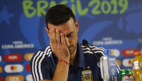 Lionel Scaloni deberá armar su once titular a horas del partido contra Paraguay.