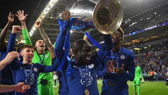 N'Golo Kanté, el mejor jugador de la final entre Chelsea vs. Manchester City | Foto: REUTERS