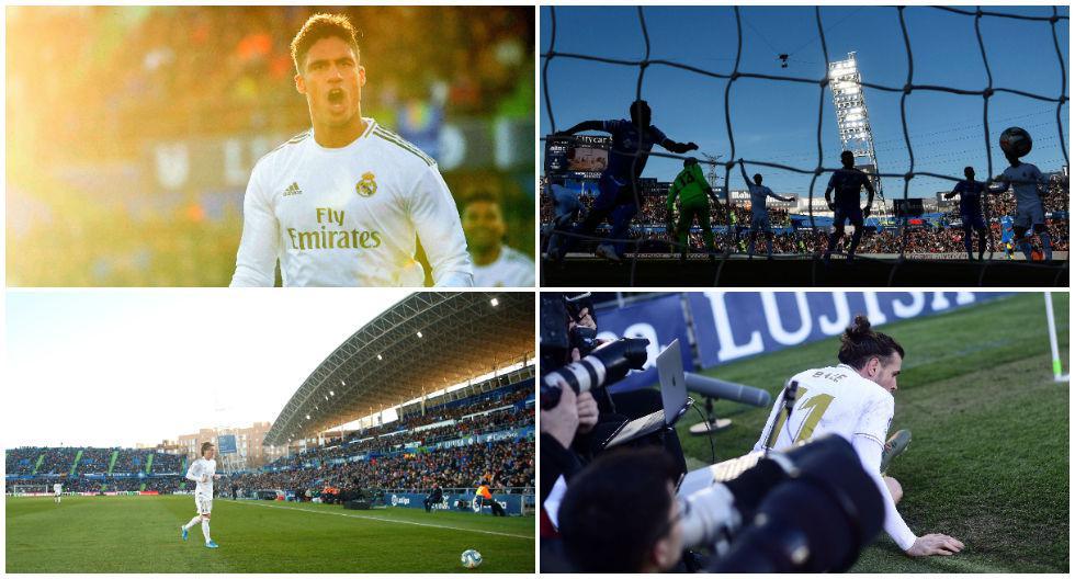 El festejo de Varane, las acciones de Bale y las 20 mejores postales del Real Madrid vs. Getafe por la Liga española. (Foto: AFP)