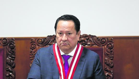 Luis Arce Córdova era el representante del Ministerio Público ante el JNE. (Foto: GEC)