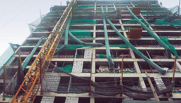 El sector construcción continúa recuperándose. (Foto: Diana Chávez | GEC)