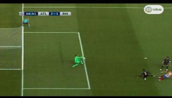 La impresionante doble atajada de Keylor Navas ante el Atlético