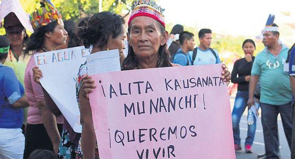 Organizaciones indígenas en el área de impacto del lote 192 exigen reprogramación y ampliación del proceso de consulta previa. (Foto: Defensores de la Madre Tierra).