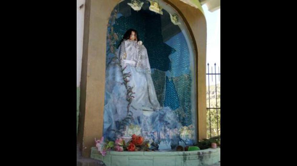 Arequipa: vándalos rompieron imagen de la Virgen de Chapi - 1