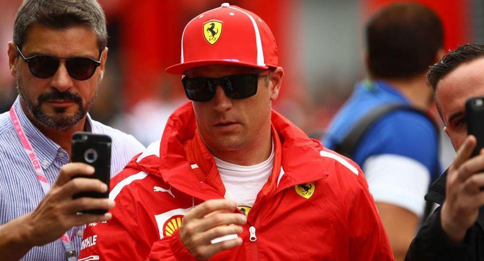 Fórmula 1: piloto Kimmi Raikonnen se va de Ferrari pero ya tiene sustituto. (Foto: AFP)