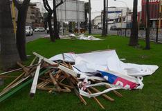 Elecciones 2018: municipios retiran paneles para evitar contaminación visual