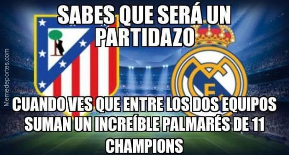 Real Madrid-Atlético de Madrid: así se comenta derbi con memes - 36