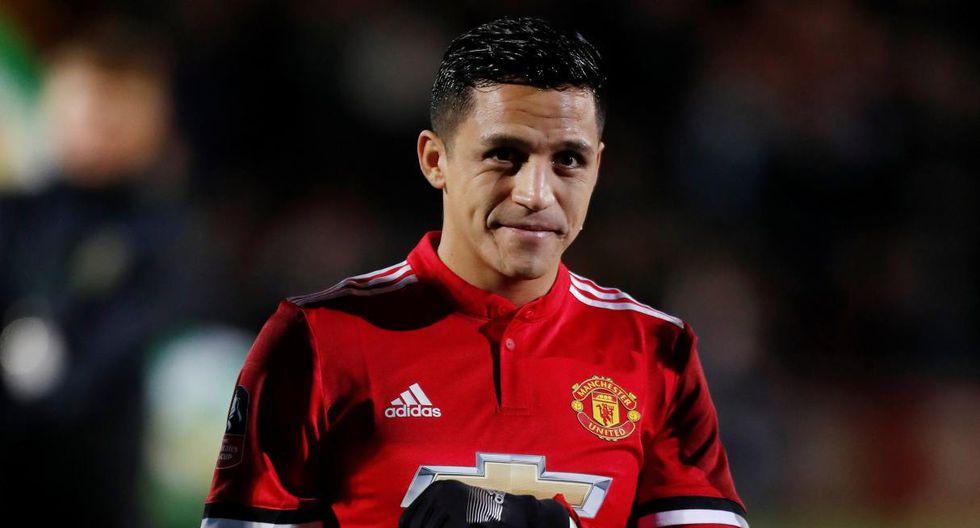 Alexis Sánchez cerca de salir del Manchester United. (Foto: Reuters)