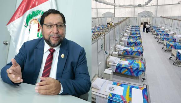 Lantarón indicó que su gestión pedirá al Ejecutivo la transferencia del adelanto del canon para Apurímac, cerca de 254 millones de soles, para financiar medidas contra el COVID-19.