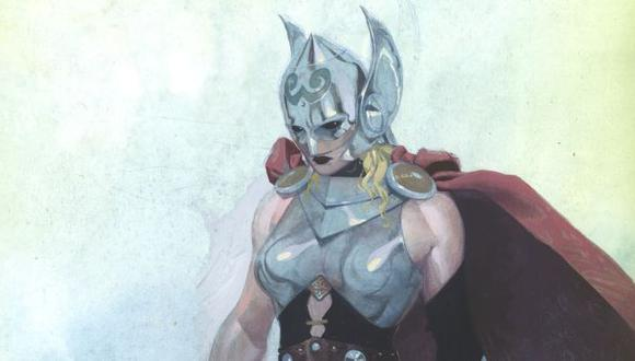 Marvel: se revela la identidad de la versión femenina de Thor