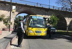 Arequipa: imponen 100 multas a conductores de transporte público por no cumplir normas de bioseguridad