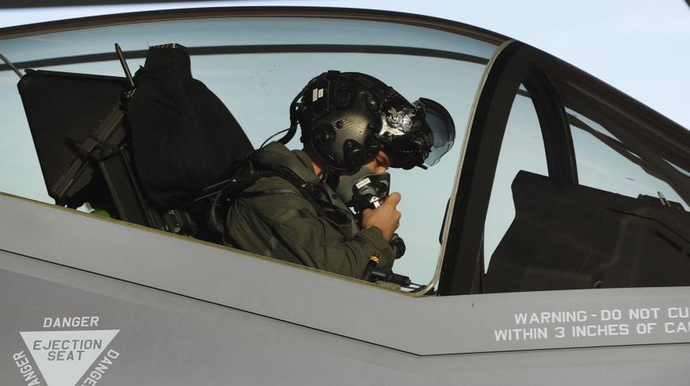 Los ultramodernos F-35 de EE.UU. que entrenan cerca de Rusia - 20