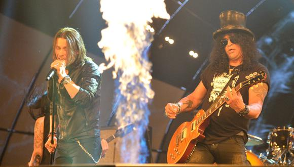 Slash: confirman concierto del ex Guns N' Roses en Lima
