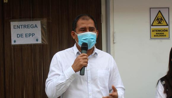 La Oficina de Comunicación del Gobierno Regional de Áncash se abstuvo de confirmar la enfermedad que le aqueja a la autoridad regional. (Foto: Laura Urbina)