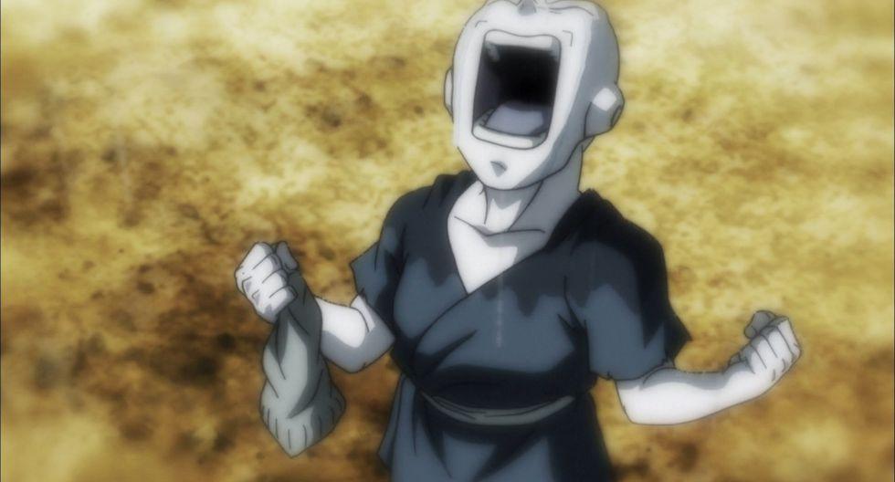 """""""Dragon Ball Super"""". Jiren, en uno de los momentos más dramáticos de su vida. (Foto: Toei Animation)"""