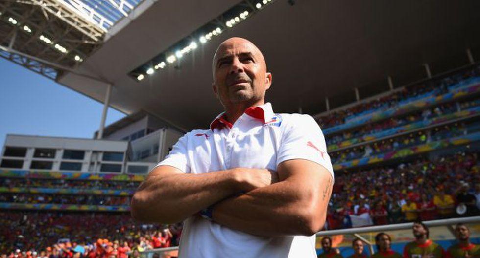Jorge Sampaoli seguirá con el buzo de Chile hasta Rusia 2018