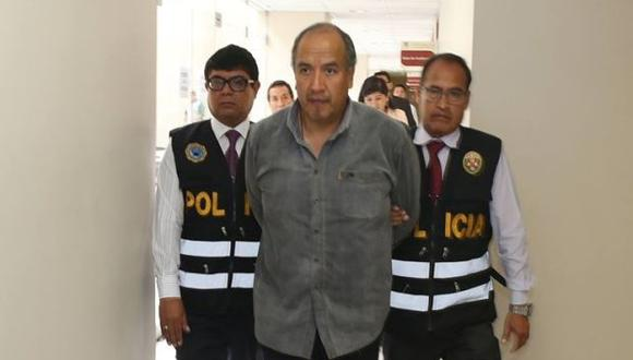 Jorge Acurio, ex gobernador regional de Cusco, continuará en prisión preventiva. (Foto: Archivo El Comercio)