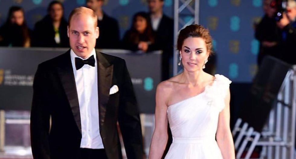BAFTA 2019. Guillermo y Kate Middleton. (Foto: Instagram)