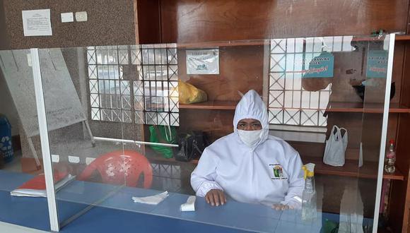 Ferreñafe: municipio reinicia atención al público bajo medidas de seguridad contra el COVID-19 (Foto difusión).