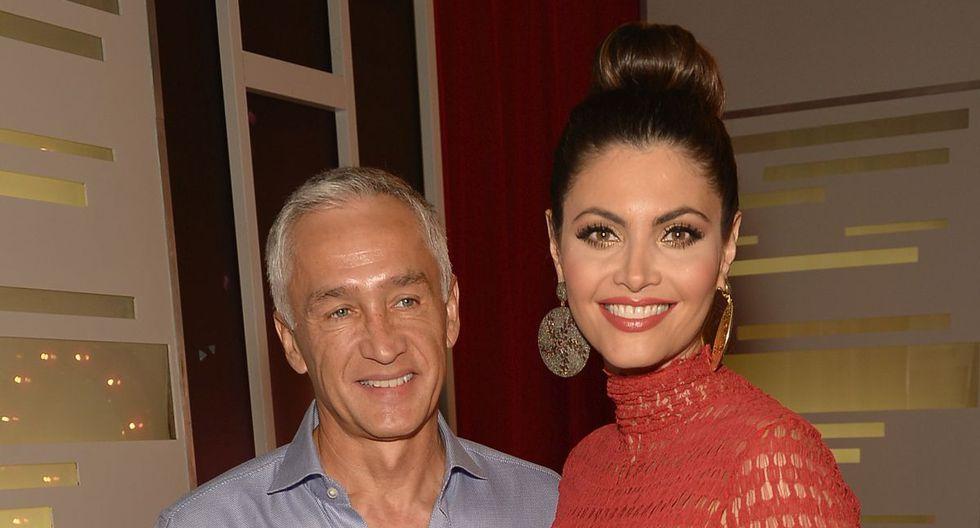 Jorge Ramos y Chiquinquirá Delgado se conocieron en 2011 durante un evento de Univisión y desde ese momento se dio un flechazo (Foto: AFP)